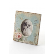 Vintage Style Floral Photo frame