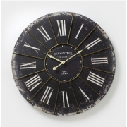 Antique Black Wall Clock