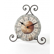 Swirly Wire Clock