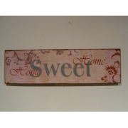 Distressed Home Sweet Home Sign