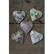 Enamel Decorative Heart