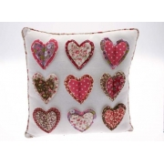 Vintage Heart Cushion