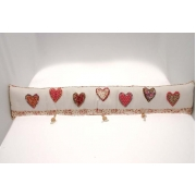 Vintage Heart Draught Excluder