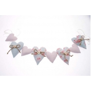 Heart Chintz Garland