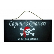 Captains Quarters Sign