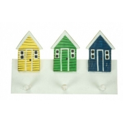 Beach Hut Coat Rack