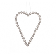 Pearl Hanging Heart