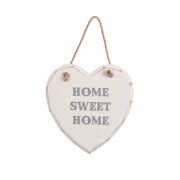 Home Sweet Home Heart Plaque