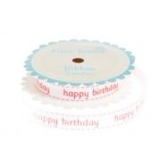 Red 'Happy Birthday' Ribbon