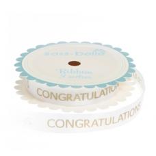 Gold 'Congratulations' Ribbon
