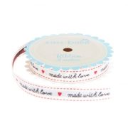 'Made with Love' Ribbon
