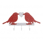 Polka Dot Bird Hook
