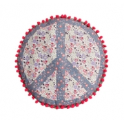 Peace Floral Cushion