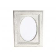 Vintage Wooden Oval Photo Frame